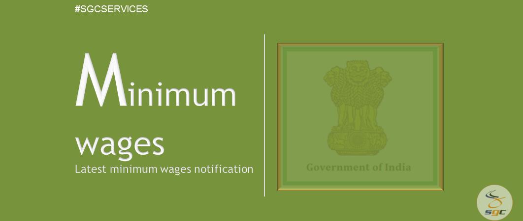 Central Minimum Wages sgc