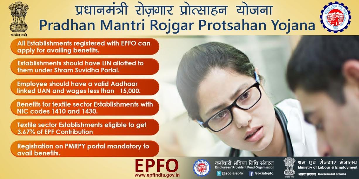 SGC Pradhan Mantri Rozgar Prtosahan Yojana (PMRPY)